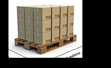 Transports julien transport en lots complets et en lots - Dimension palette europe ...